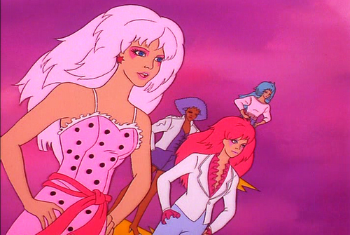 Jem and the Holograms Pink Dress
