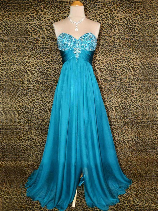 Dreamy Frozen Prom Dresses Inspired By Elsa S Blue Gown