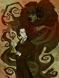 """Jekyll and Hyde"" © Abigail Larson"