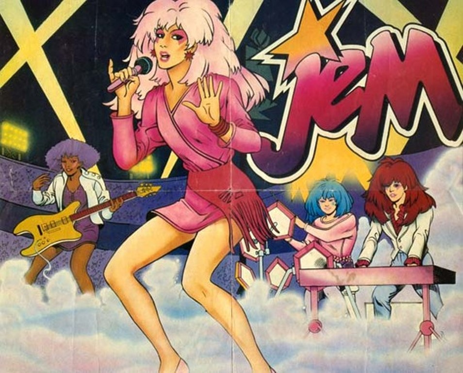 'Jem and the Holograms' Inspired LPD's (Little Pink Dresses)