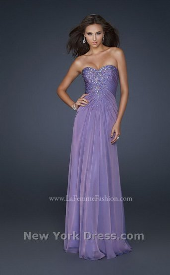 Ariel Mermaid Purple Dress