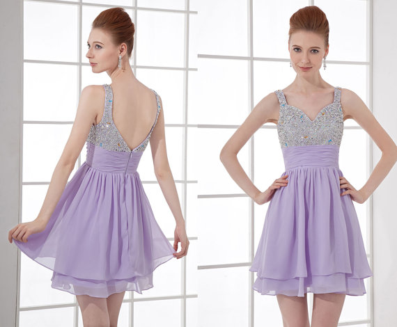 Ariel Pretty Mermaid Purple Dress