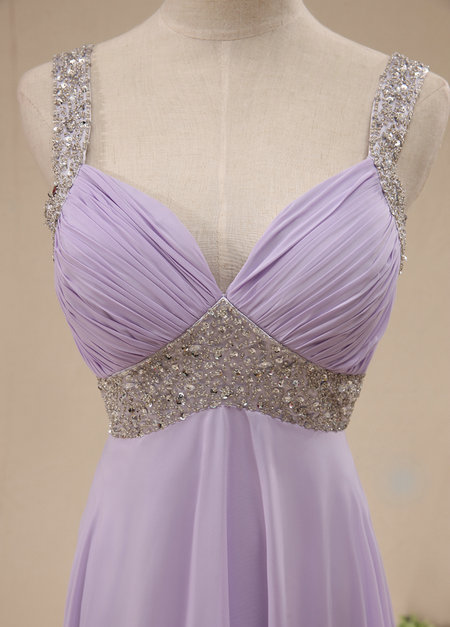 Mermaid Ariel Purple Dress