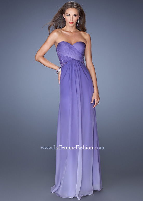 Mermaid Purple Ariel Gown