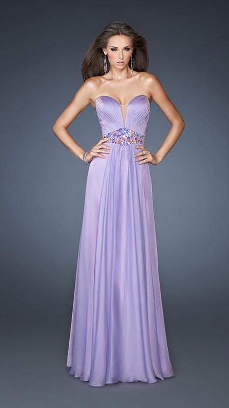 Purple Ariel Mermaid Gown