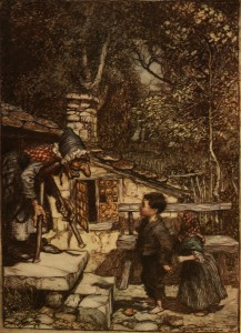 """Hansel and Gretel"" by Arthur Rackham"