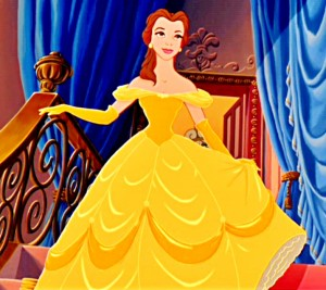 Belle Yellow Dress Beauty and the Beast