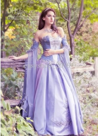 purple dresses inspired by lady amaltheas medieval gown