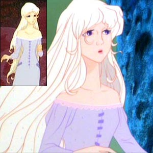 Purple Dresses Inspired by Lady Amalthea's Medieval Gown in 'The Last Unicorn'
