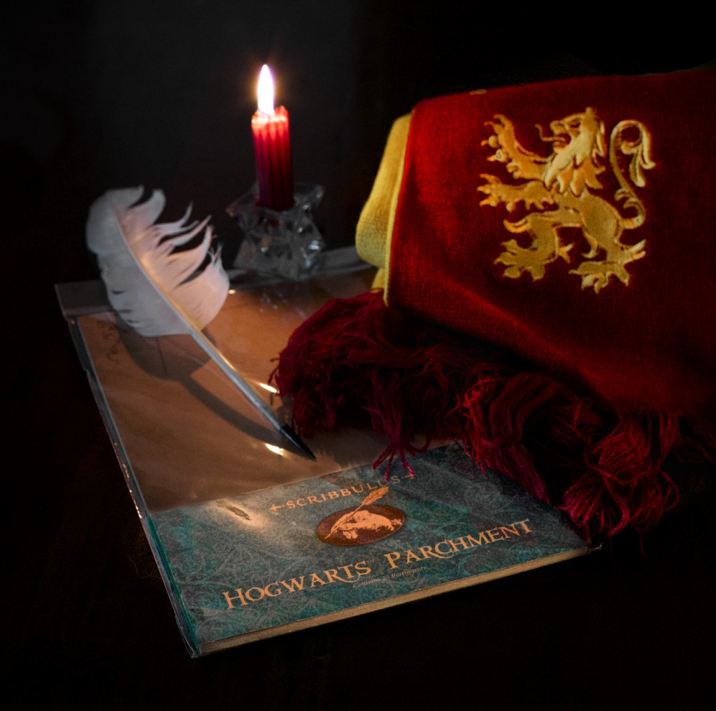 Parchment, Scarf, Harry Potter