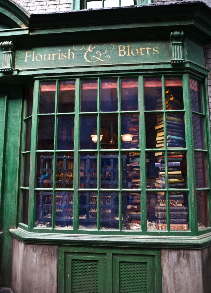 Diagon Alley, Harry Potter, Flourish and Blotts