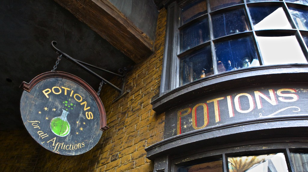 Potions, Diagon Alley