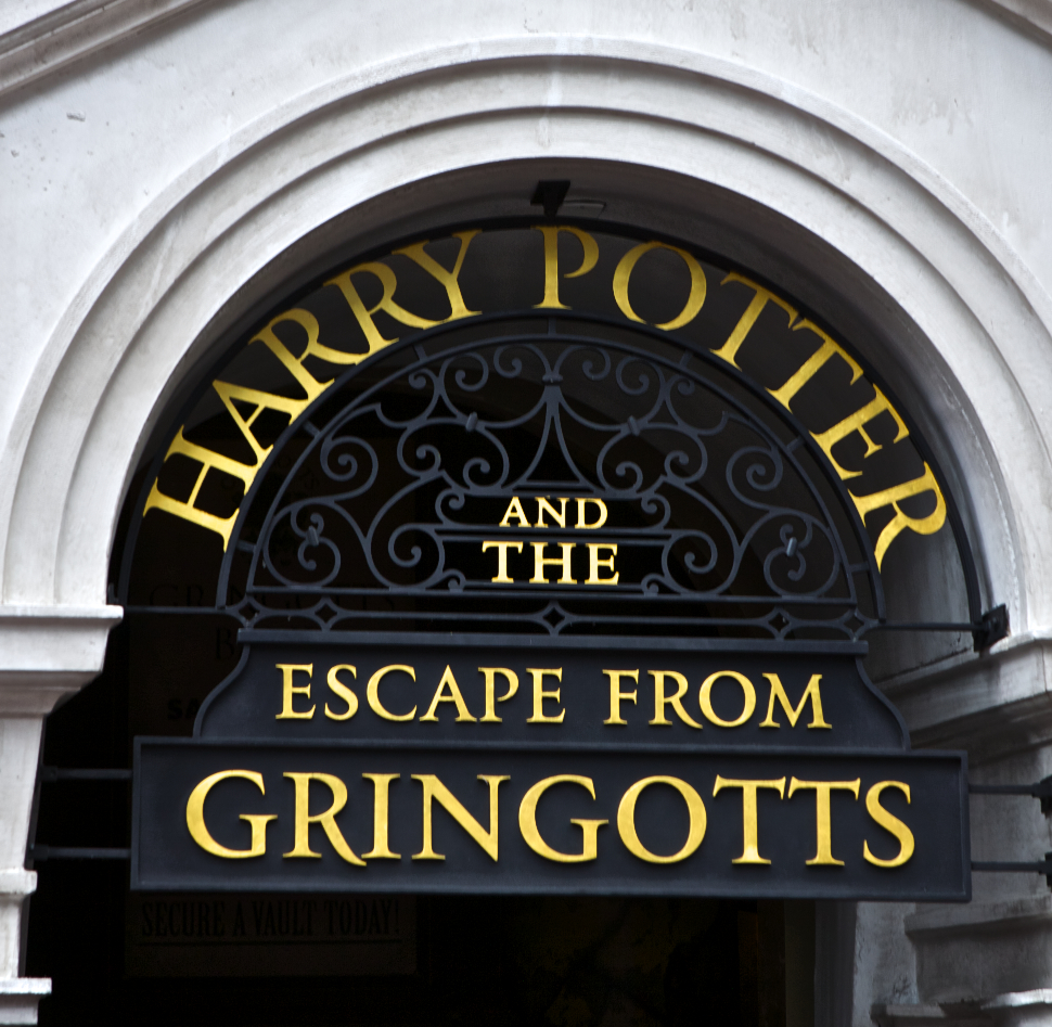 Escape from Gringotts, Harry Potter, Diagon Alley