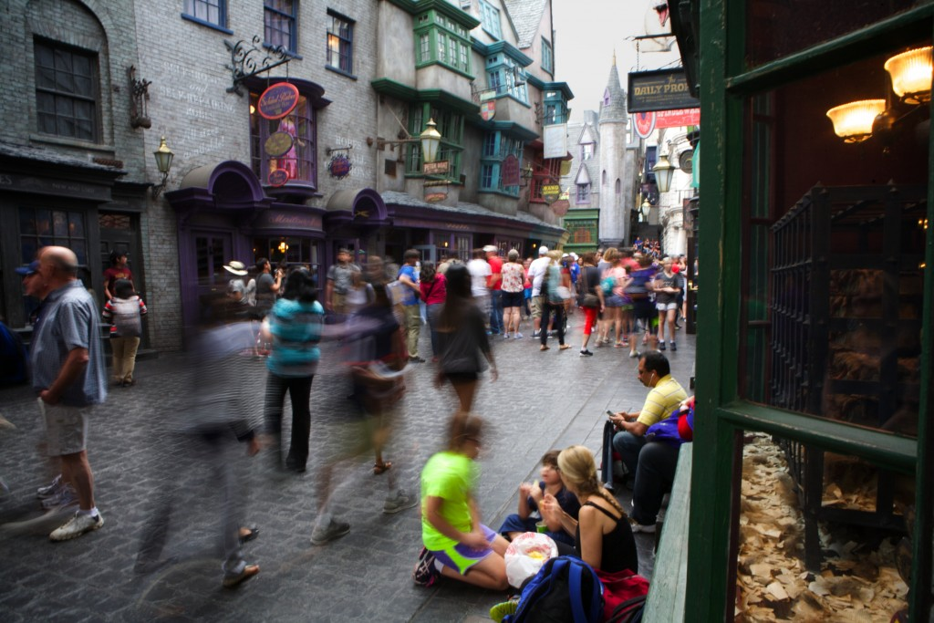 Diagon Alley, Harry Potter
