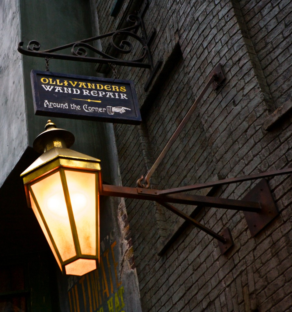 Ollivanders Wand Shop, Diagon Alley, Harry Potter