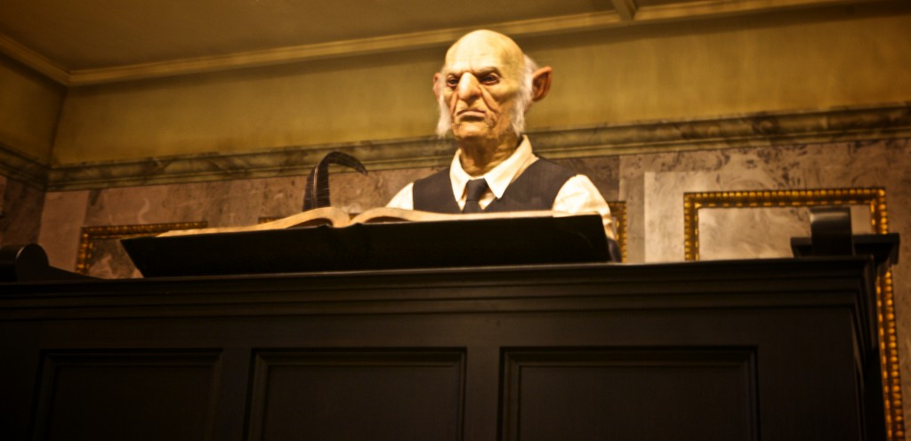 Gringotts' Goblin, Diagon Alley, Harry Potter