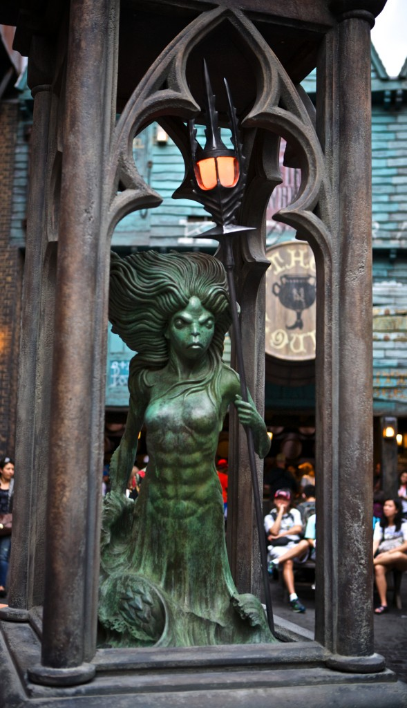Mermaid Fountain, Diagon Alley
