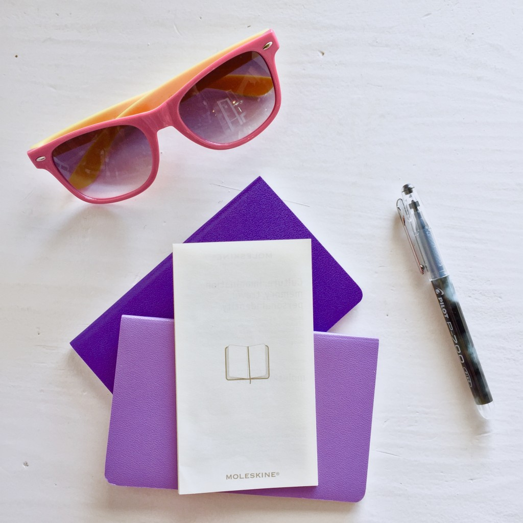 Purple Moleskines, Vignettes, and Vancouver Travels