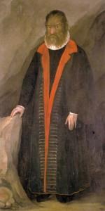 Petrus Gonsalvus *190 x 80 cm  *ca 1580