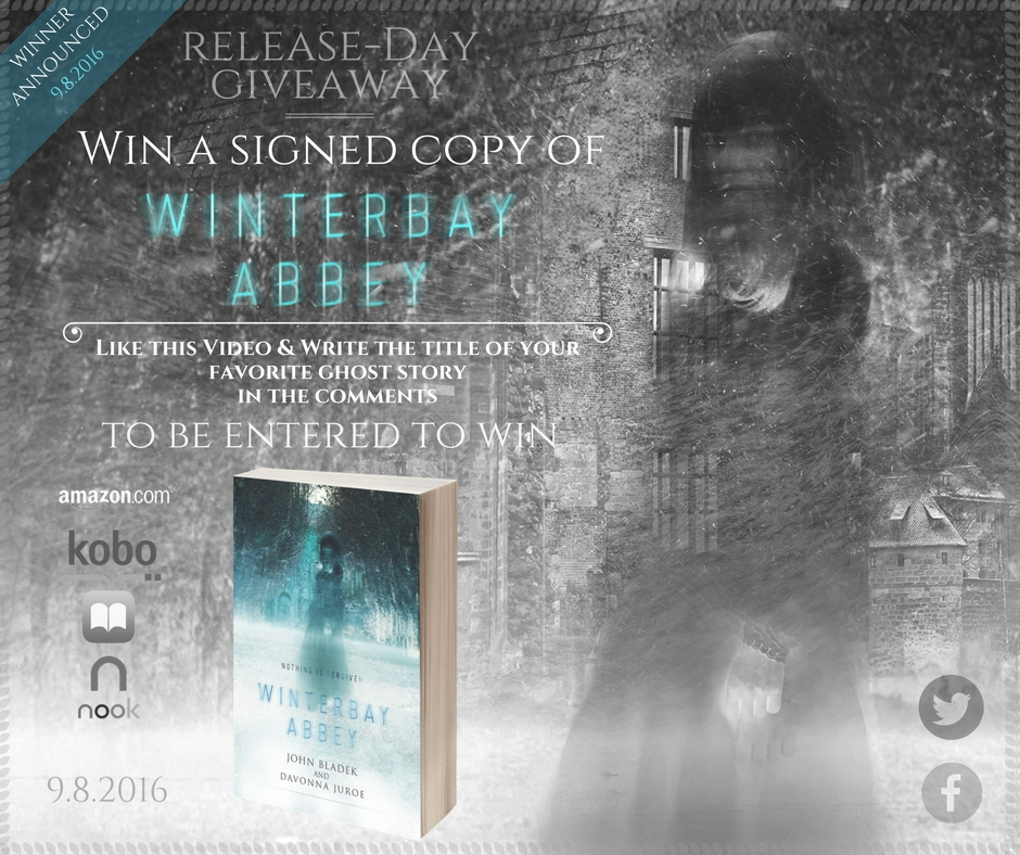 'Winterbay Abbey' Signed Copy Giveaway