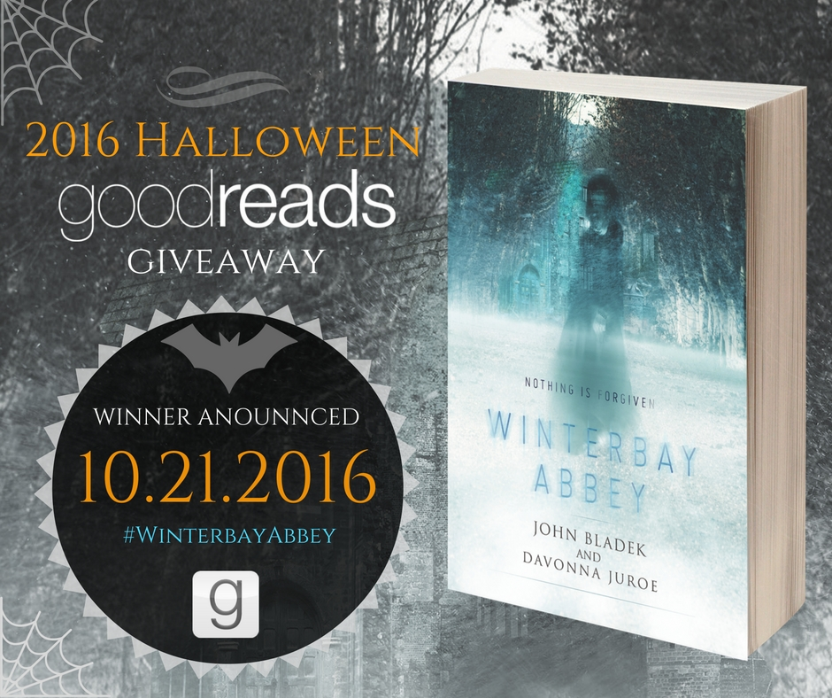 Halloween Ghost-Story Goodreads Giveaway – 'Winterbay Abbey'