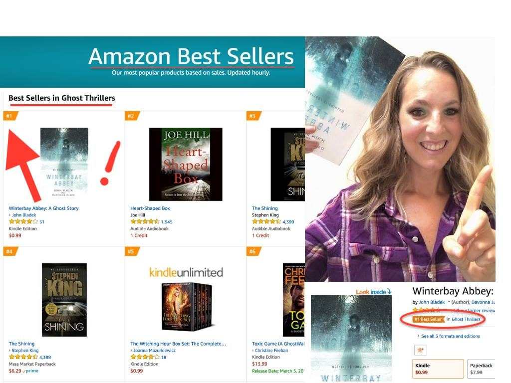 'Winterbay Abbey: A Ghost Story' Jumps Onto Amazon and Barnes & Noble Bestseller Lists a Third Time